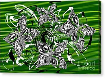Airiness Canvas Print by Elena Kucherenko