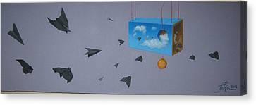Airplanes 2 Canvas Print by Predrag Radovanovic