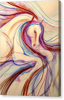 Gypsy Canvas Print - Airs Above The Ground by Jennifer Fosgate