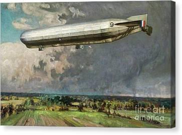 Airship 9 Canvas Print