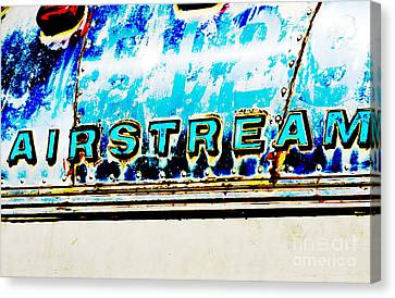 Airstream Canvas Print by Newel Hunter