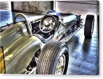 Aj Foyts Roadster Canvas Print