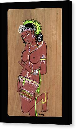 Ajanta Cave Beauty  Canvas Print