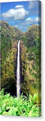 Akaka Falls Big Island Hawaii Canvas Print by Kurt Van Wagner