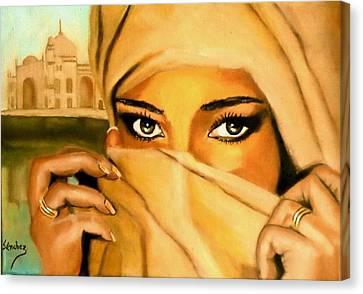 Al-andalus-3 Canvas Print by Manuel Sanchez