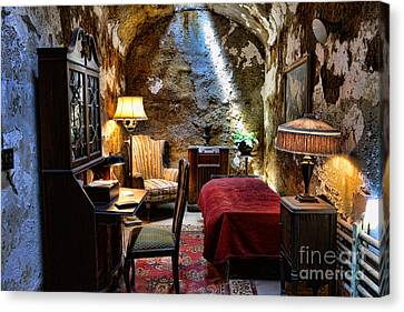 Al Capone's Cell - Scarface - Eastern State Penitentiary Canvas Print by Paul Ward