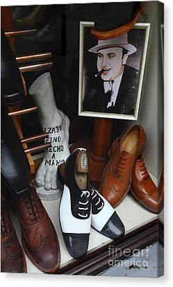 Al Capone's Shoe Collection Canvas Print