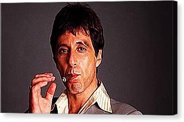 Al Pacino Canvas Print by Iguanna Espinosa