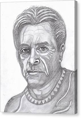 Al Pacino Canvas Print by Richard Heyman