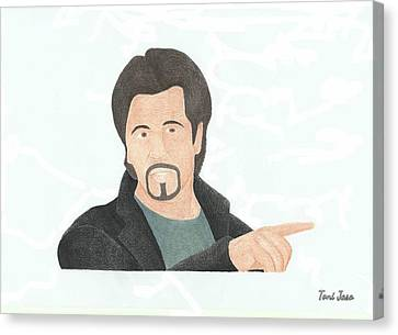 Al Pacino Canvas Print