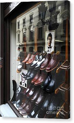 Al Pacino's Shoe Collection Canvas Print