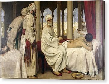 Al-zahwari Blistering A Patient, 10th Canvas Print