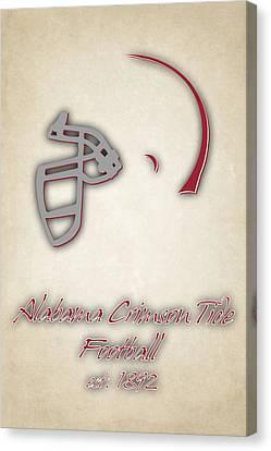 Alabama Crimson Tide Helmet 2 Canvas Print by Joe Hamilton