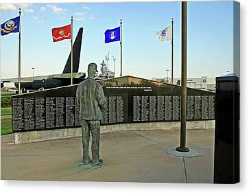 Alabama Military Memorial Canvas Print