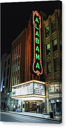 Alabama Theater Canvas Print by Stephen Stookey