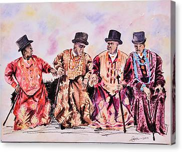 Alabo Iv Canvas Print