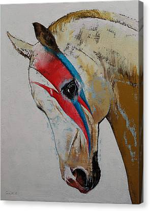 Rock Star Canvas Print by Michael Creese