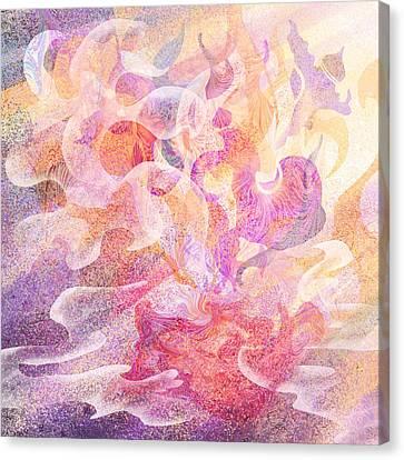 Aladdin's Lamp Canvas Print by Rachel Christine Nowicki