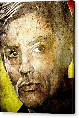 Alain Delon Canvas Print by Otis Porritt