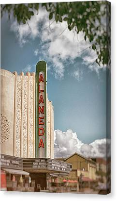 Alameda Theater California Canvas Print by Mary Lee Dereske