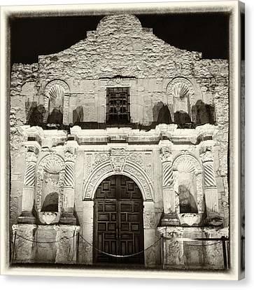 Alamo Entrance Canvas Print by Stephen Stookey