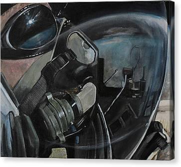 Alan Eustace Canvas Print by Simon Kregar