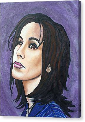Alanis Canvas Print by Sarah Crumpler