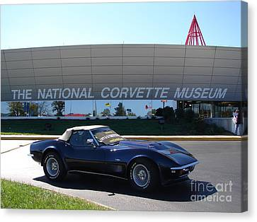 Alans 1968 Corvette Canvas Print
