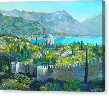 Alanya Turkey Canvas Print by Lou Ann Bagnall