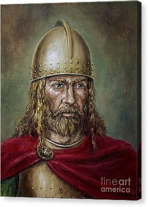 Alaric The Visigoth Canvas Print by Arturas Slapsys