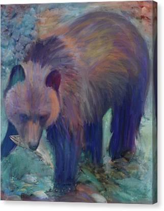Alaska Bear  Canvas Print