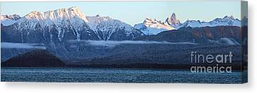 Alaska Coastal Range Panorama Canvas Print by Mike Reid