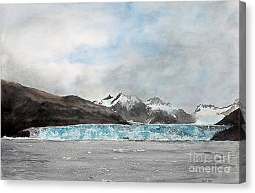 Alaska Ice Canvas Print by Monte Toon