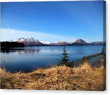 Kevin Hill Canvas Print - Alaska Lake by Kevin Hill