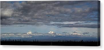 Alaska Mountains Canvas Print by Dave Clark