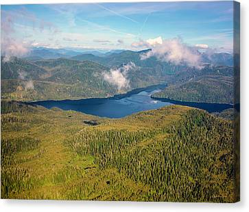 Canvas Print featuring the photograph Alaska Overview by Madeline Ellis