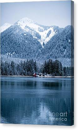 Alaska Solitude Canvas Print by Mike Reid