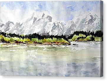Alaska Solitude Canvas Print