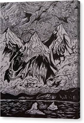 Alaska Song Canvas Print by Anna  Duyunova