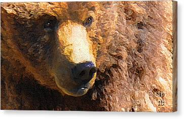Alaskan Kodiak Bear Canvas Print