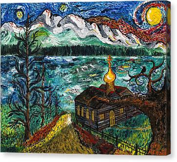 Alaskan Orthodox Church Canvas Print