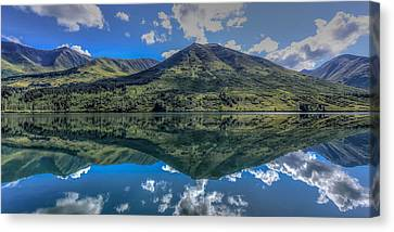Alaskan Reflections Canvas Print