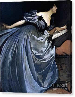 Alathea Canvas Print by John White Alexander