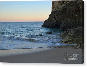 Albandeira Beach Welcoming Twilight 2 Canvas Print