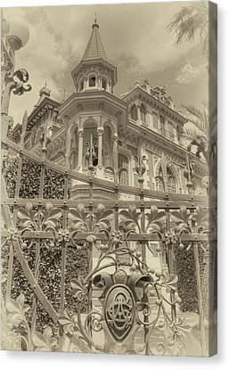 Albert Chamas Villa Canvas Print by Nigel Fletcher-Jones