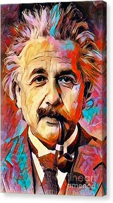 Albert Einstein - The Philosopher Canvas Print