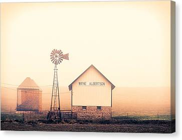 Albertson Farm Canvas Print by Todd Klassy