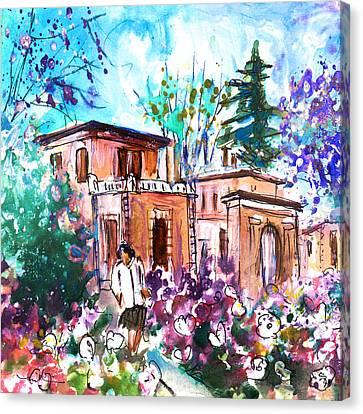 Albi En Fleur Canvas Print by Miki De Goodaboom