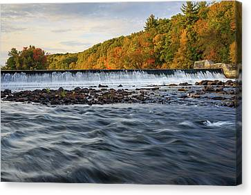 Albion Dam Canvas Print