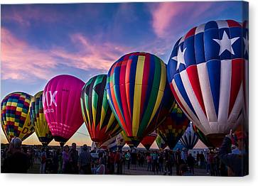 Albuquerque Hot Air Balloon Fiesta Canvas Print